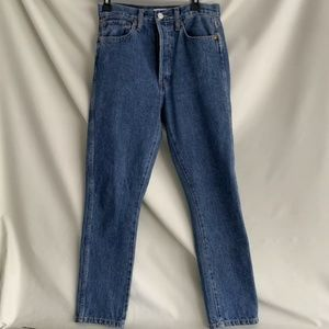 NWOT Re/Done high rise jeans size 28